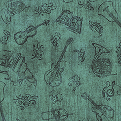 ENCORE INSTRUMENT TOILE GREEN 1649-27019-g