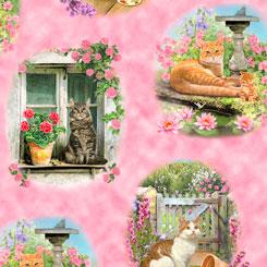 QT - Fancy Felines CATS VIGNETTES MULTI - 27036-P