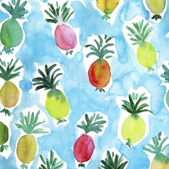 Wild & Fruity Pineapple Blue