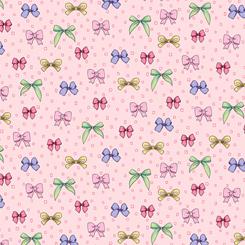 Amour De Fleur BOWS POWDER PINK