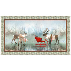 Lake Caribou NORDIC DEER PANEL MULTI