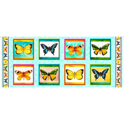 Fly Free BUTTERFLY PICTURE PATCHES MULTI