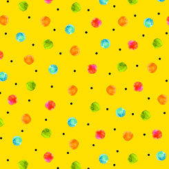 Fly Free DOTS YELLOW
