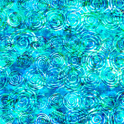 Radiance SCROLL BLUE