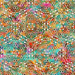 QT Fabrics 1649-27100-E  Rhythm