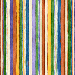Horsin' Around STRIPE MULTI 27136-X