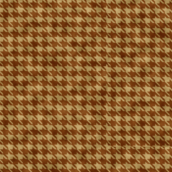 Turkey Hill 27171-A Houndstooth Brown