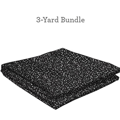 Speckles 108 Wide Black 3 Yds