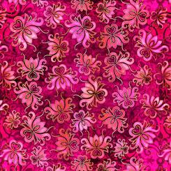 Pandora 27185 M Floral Toss Azalea