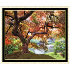 Quilting Treasures Artworks Xii TREE PANEL MULTI 1649-27199-X