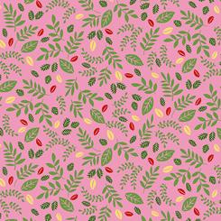 Dandi-lions - Leaf Toss Pink