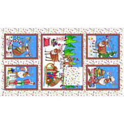Reindeer Antics REINDEER ANTICS PANEL MULTI