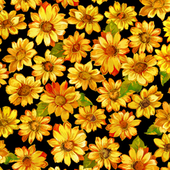 Autumn Bounty Sunflowers - 27267-J