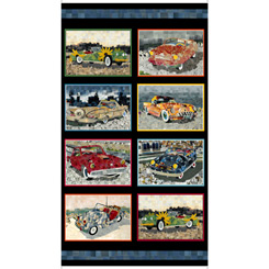 Artworks Xiii CAR PATCHES PANEL MULTI