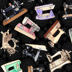 Tailor Made - Sewing Machines on Black