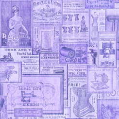 Tailor Made VINTAGE PATCHES LILAC