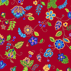 Beaded Blooms<br>27344-R - RED