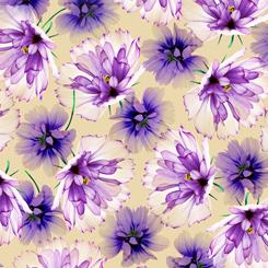 Emma TOSSED FLOWERS TAN