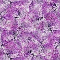 27358-V Orchid - Leaf Vine | Emma by Quilting Treasures
