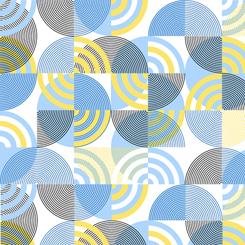 Delancey Geometric - White