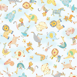 Animal Parade Baby Animal Toss Baby Blue - 27370-B