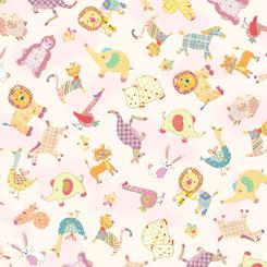 Animal Parade Baby Animal Toss Baby Pink - 27370-P