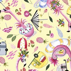 Flamingo Fantastico FLAMINGO TOSS PALE YELLOW (FA-22783-S)