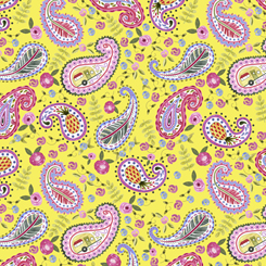 Flamingo Fantastico PAISLEY YELLOW