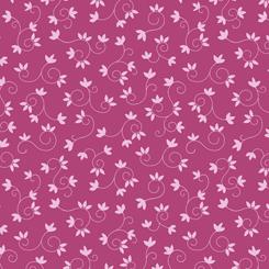 Flamingo Fantastico LEAF SCROLL DARK PINK (FA-27389-P)