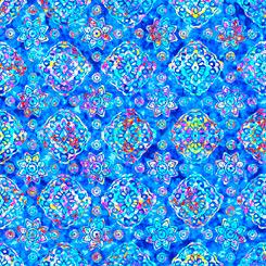 Zanzibar DIAMOND GEO BLUE
