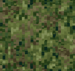 OMBRE SQUARES OLIVE
