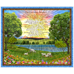 The Lord Is My Shepherd Panel