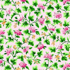 Bliss - Floral Vine Pale Pink 27469-P