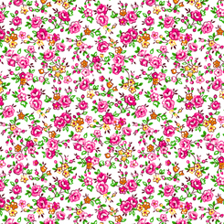 Bliss - Spaced Floral Pink 27470-P
