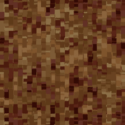Ombre Squares 108 Wide Brown