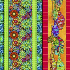 Color Me Chameleon CHAMELEON CHARACTER STRIPE MULTI