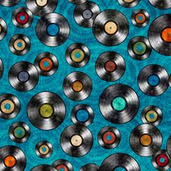 Good Vibrations - Vinyl Records - Teal - 27505-Q