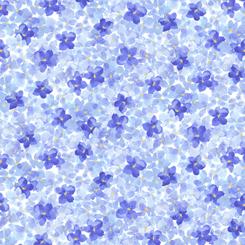 Hydrangea Blossoms PACKED HYDRANGEA BLUE