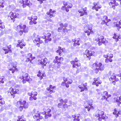 Hydrangea Blossoms PACKED HYDRANGEA LAVENDER