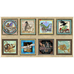 Fantasy & Fiction Steampunk Picture Patches Multi Panel