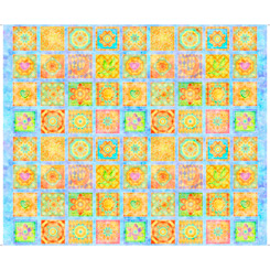 Panel Dream Big FLOWER PATCHES 27573-B