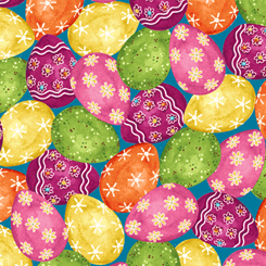 Easter Parade EASTER EGGS MULTI