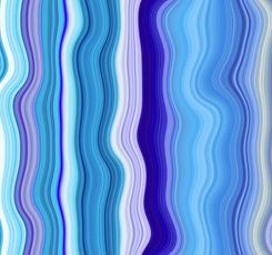 Transcendence WAVY STRIPE BLUE
