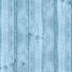 Deer Meadow WOOD TEXTURE BLUE