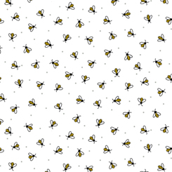 All The Buzz BEES WHITE