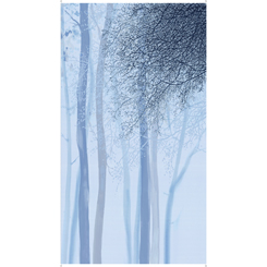 Artworks Xv OMBRE TREE PANEL Blue