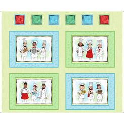 Chef's Special CHEFS PICTURE PATCHES LIGHT GREEN