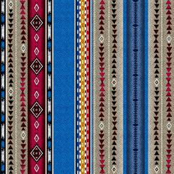 Geo Stripe Fat Quarter - Multi Dream Weaver Collection from QT Fabrics