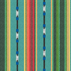 Dream Weaver 27653-Q Textured Serape Stripe Turquoise