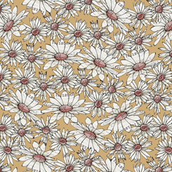 Farm Life - Daisies, Straw - By Christine Anderson for QT Fabrics